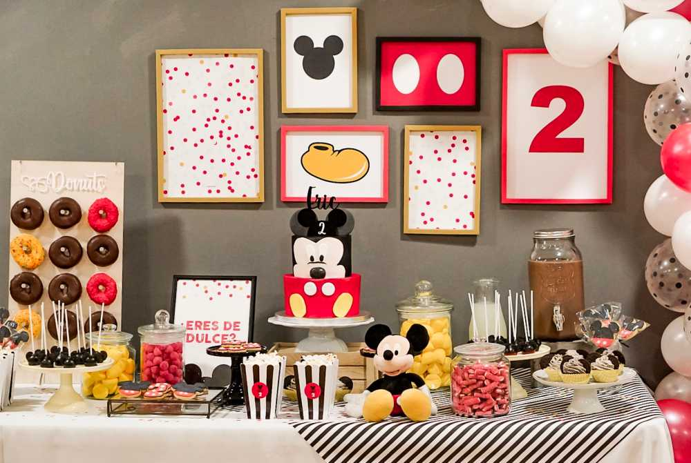 cumpleaños Mickey Mouse